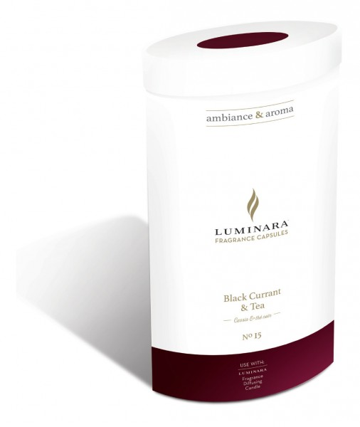 Luminara Duftkapsel Nr. 15 Black Currant & Tea