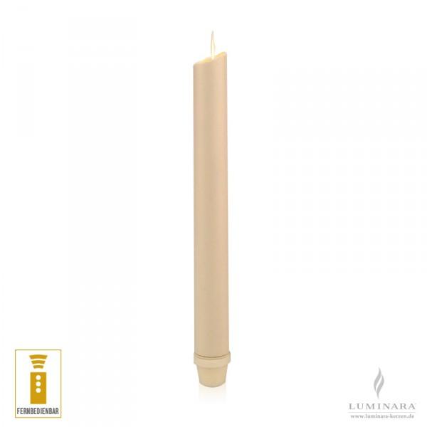Luminara LED Stabkerze elfenbein fernbedienbar
